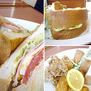 サンドイッチの厚さときたらっ!!