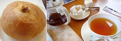 パンと紅茶
