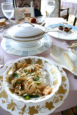 海の幸タイ国風カレー