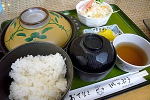 えび鍋定食♪
