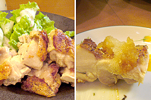 パリプリの鶏もも。