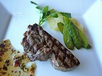牛フィレ肉の網焼き