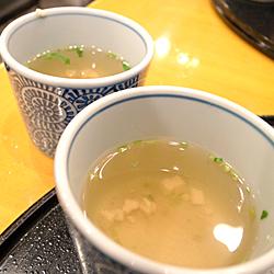 3つのスープ(笑)