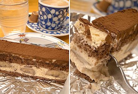 ケーキも美味かった♪