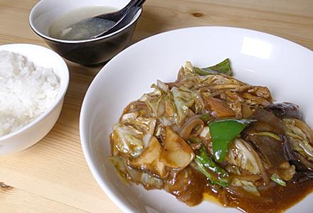 麒麟☆メインとご飯とスープ