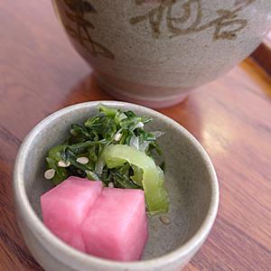 赤福☆漬け物美味しっ