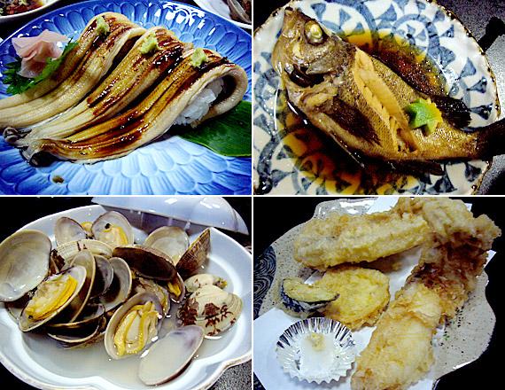 浜辺屋の料理1