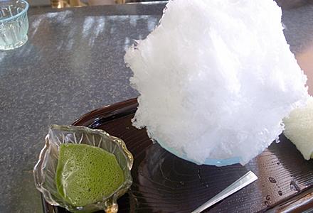 藤屋窓月堂本館☆利休氷