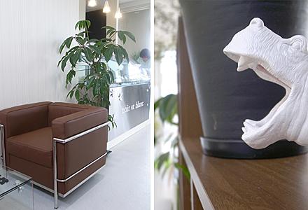 ノアールエブラン☆カバもこの椅子も好きっ