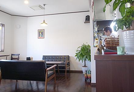cafe Ainhoa(エノア)☆店内はこんなの