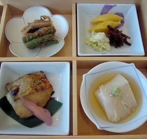 4つの枡料理その1