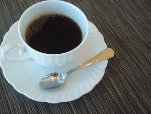 もんど岬食後のコーヒー