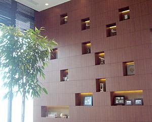 鳥羽国際ホテルエントランス壁面