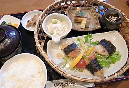 町家カフェ☆ランチセット