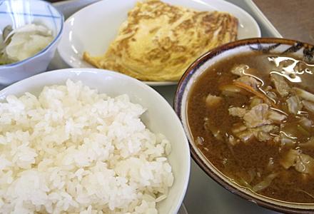 板橋食堂☆玉子焼き定食