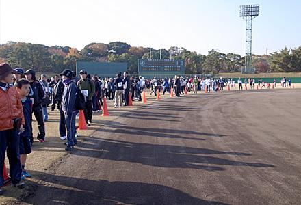 お伊勢さん健康マラソン☆球技場1