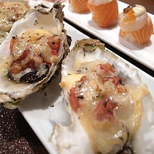 Mr.q☆シェル牡蠣とトマトのチーズ焼き