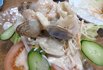 福樂(ふくらく)☆海鮮サラダ