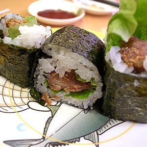 女子会inかっぱ寿司☆これなら魚が食べられるね☆