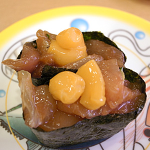 女子会inかっぱ寿司☆卵黄しっかり