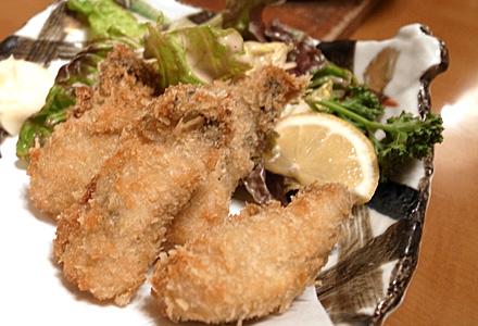 てんびん屋 本店☆牡蠣フライ