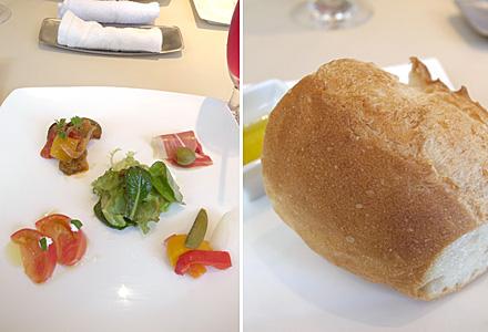 home+☆前菜とパン