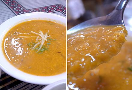 ルンビニ☆豆スープ