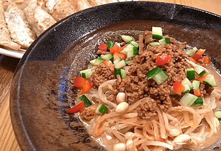 一番亭☆冷やしタンタン麺