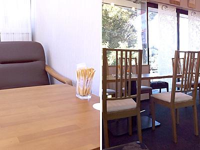 ↑テーブルが広いと落ち着かない貧乏性