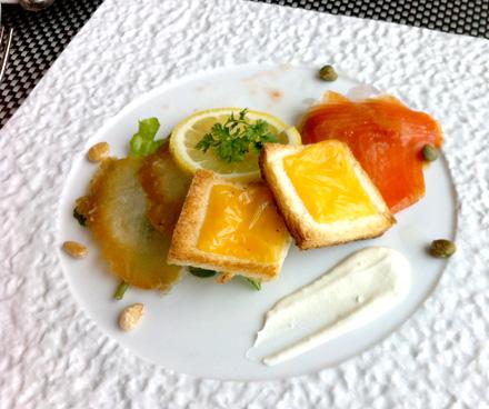 鳥羽国際ホテル旬菜ランチ前菜