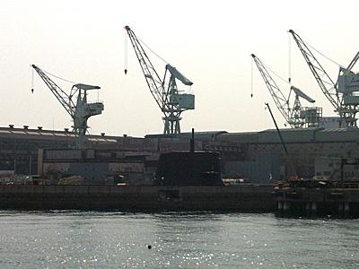 ↑三菱重工潜水艦。萌えます。