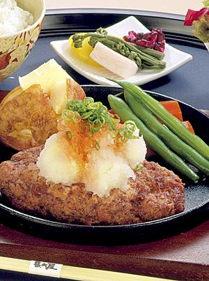 松阪牛ゴロゴロハンバーグステーキ